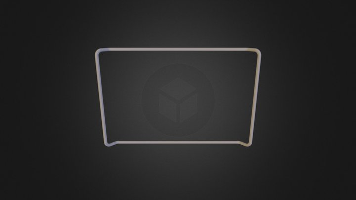 Dish Rack Final HW04 (maryam+mm) - Rack Base-1 3D Model