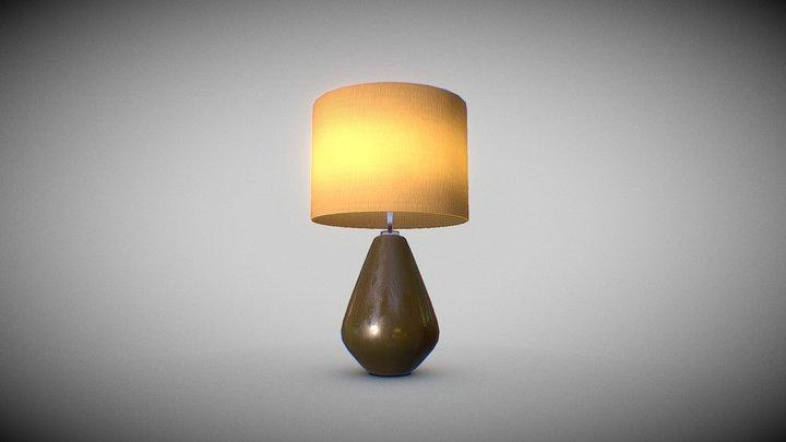 70s retro lamp 3D Model