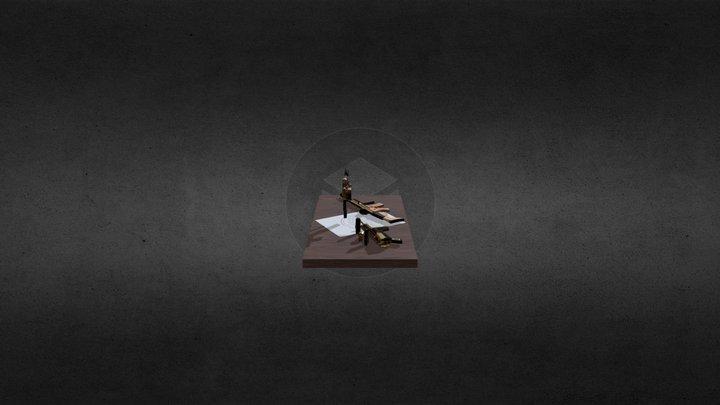 Scar-H Scene 3D Model
