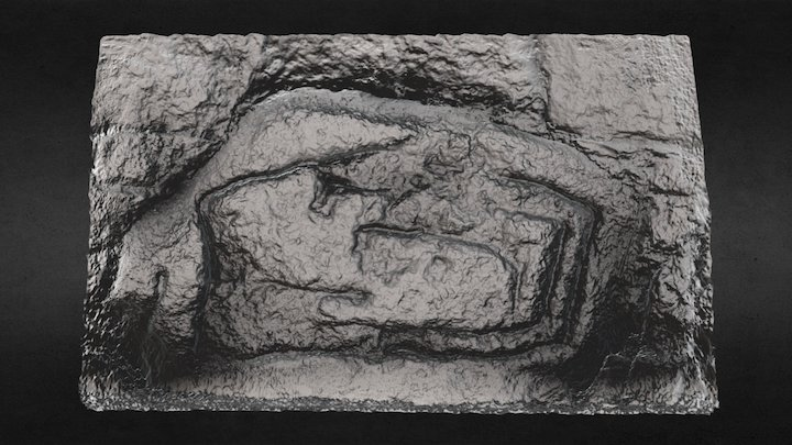 Poss. Carved Stone. - Location of Town Wall 3D Model