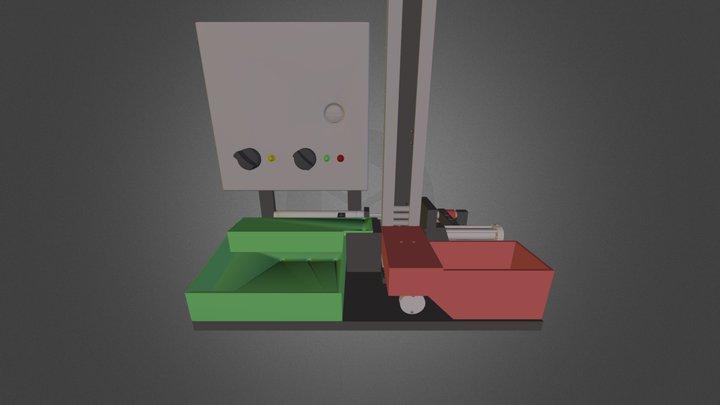 Spool Gage Tester 3D Model