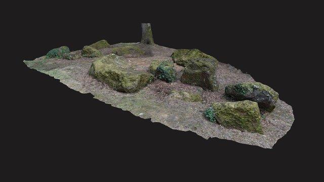 Nécropole mégalithique de Peyrehaut, Aquitaine 3D Model