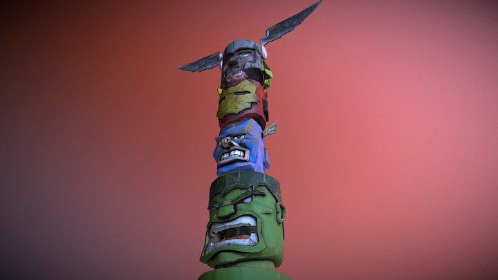 The Avengers Totem 3D Model