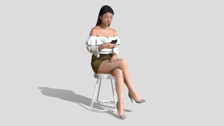 Kaylie 1138 3D Model