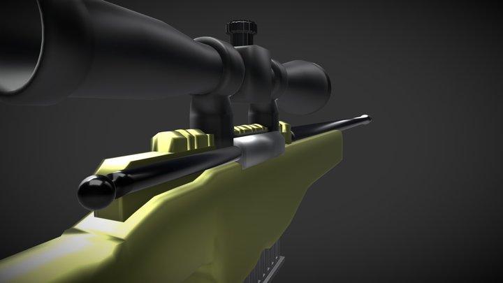 Awp Camo 3D Model