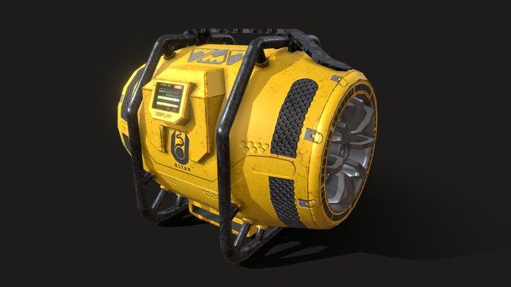 Portable Fusion Generator 3D Model