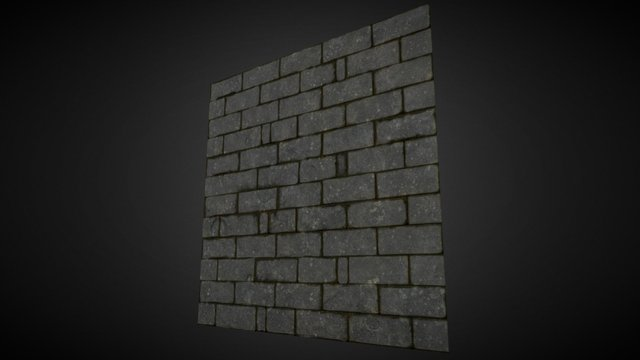 Dungeon_Wall 3D Model