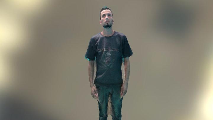 Avatar Rodrigo 360 3D Model