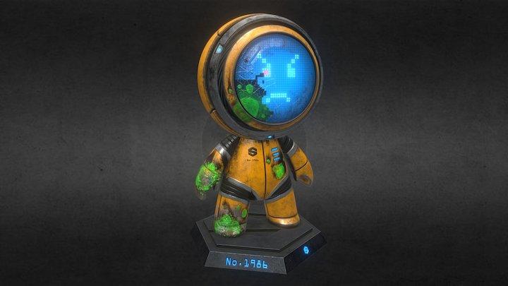 Mat The Alien Fighter 3D Model