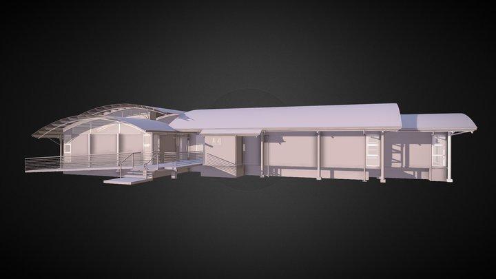 Coolum Library 3D Model