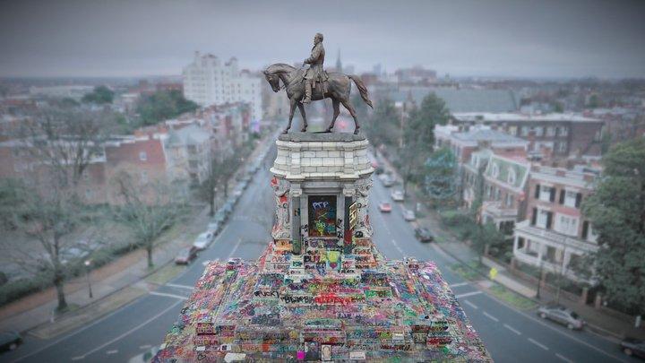 Robert E. Lee Monument: 6.15.2020 3D Model