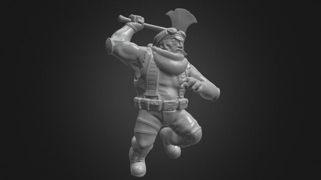 Agent Claws 3D Model
