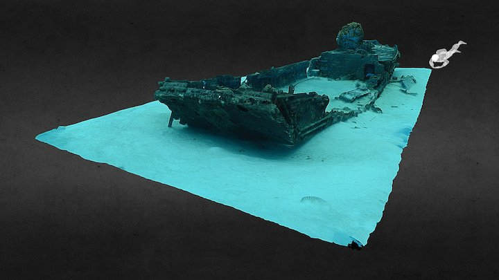 Daihatsu Landing Craft 01 3D Model