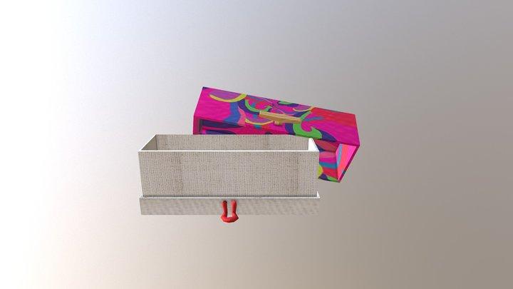 Box Open 3D Model