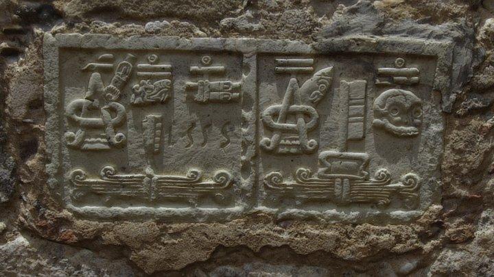 Mixtec date glyph 3D Model