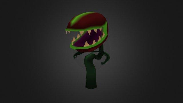 Monster Plant Enemy 3D Model