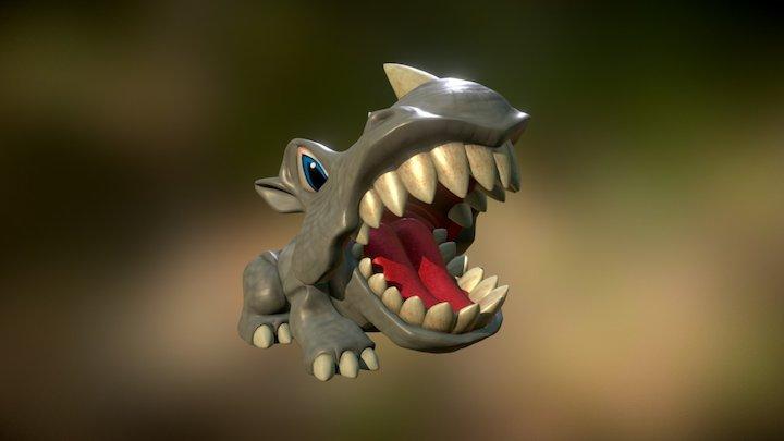 scarymals toy - rhino 3D Model