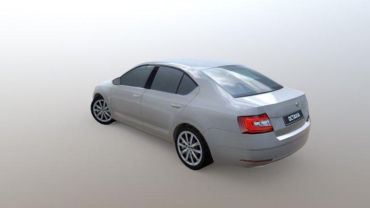 Škoda Octavia 2017 3D Model