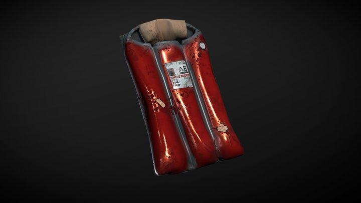 Cozy Blood Bag 3D Model
