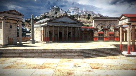 Rome 3D Model