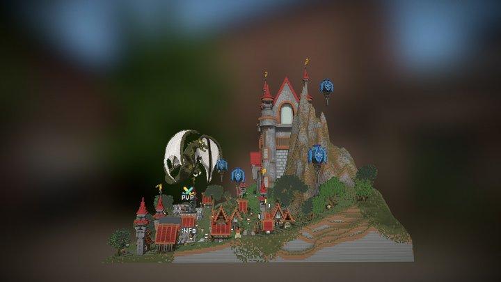 Greatcastel Spawn/Lobby 3D Model