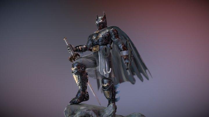 Batmedieval Knight 3D Model