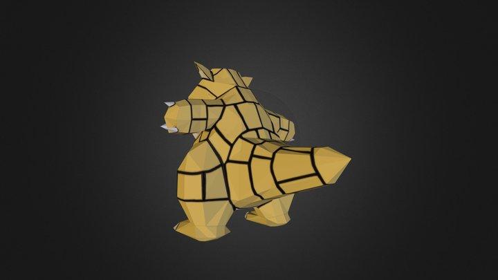 Sandshrew 3D Model