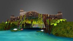 Ogre Bridge 3D Model