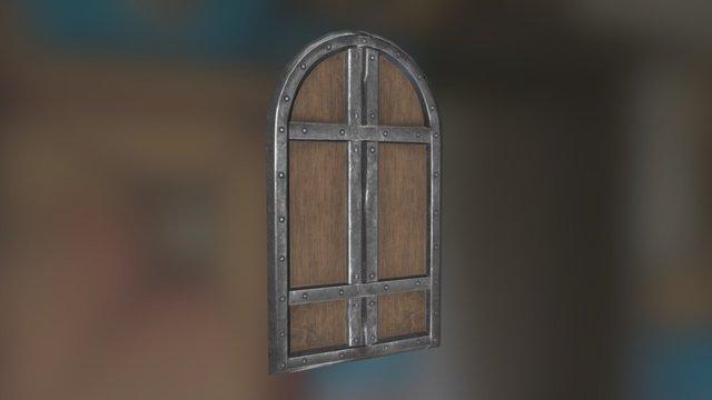 PBR Door 3D Model
