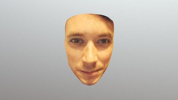 Testing facial reconstruction 3D Model