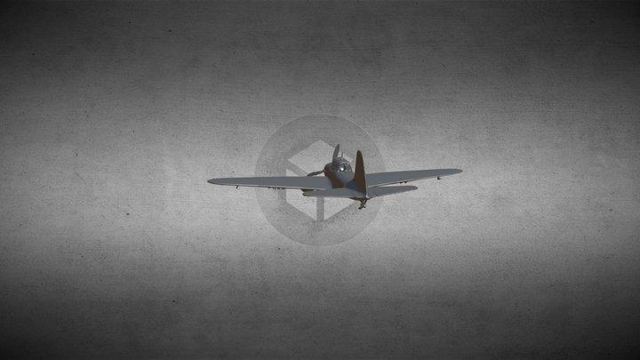 Штурмовик Ил-2 3D Model