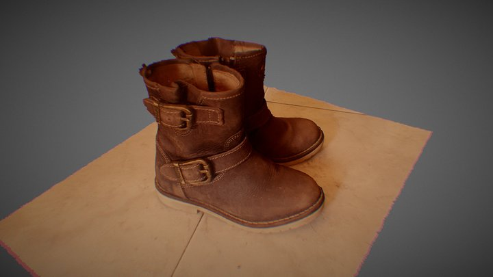 Scarponcini Masaniello 3D Model