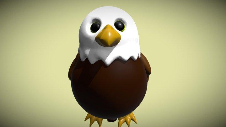 Medium   Eagle-Balloon 3D Model