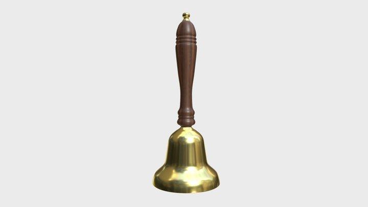 School handbell 3D Model