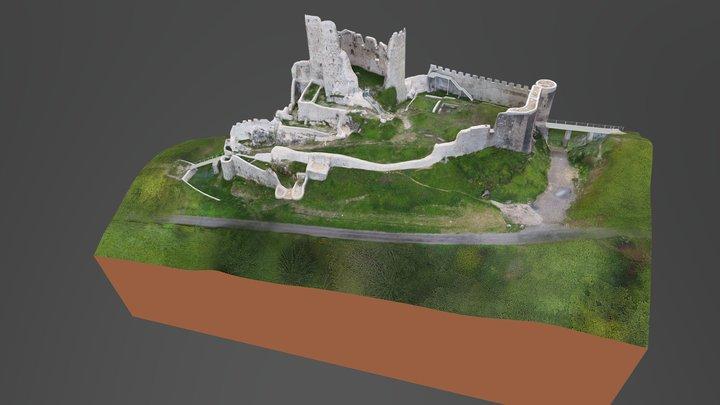 Pfeffingen, Ruine (Zustand 2017 nach Sanierung) 3D Model