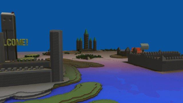 minecraft4 3D Model