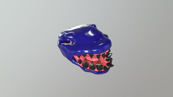 Monster - SulptJanuary2018 Day 6 3D Model