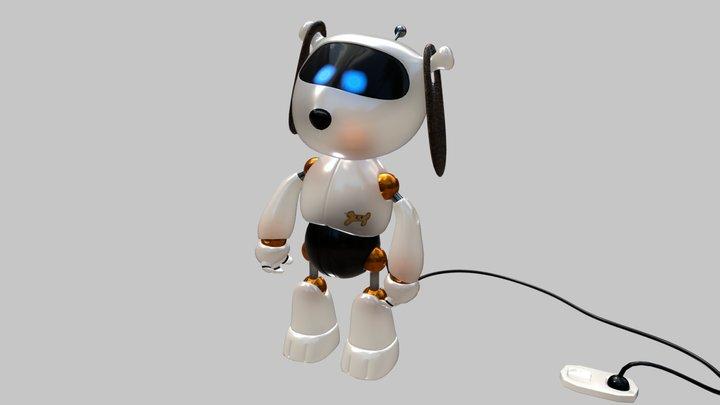 Cucho-3000 tantrumbot 3D Model