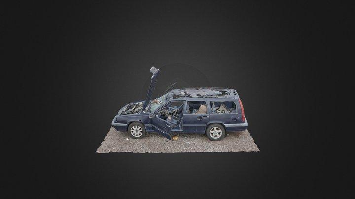 RandomLab 020 Abandoned VOLVO 3D Model