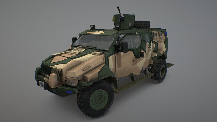 Streit Group Spartan 3D Model
