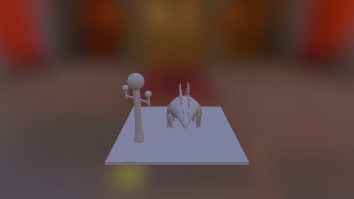 Adam Zimmer Project 3 3D Model