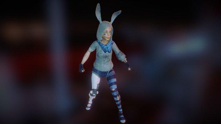 Bunny Girl 3D Model