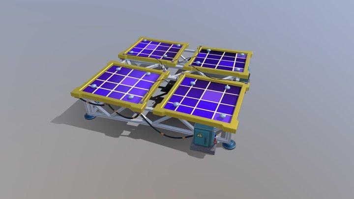 Solar Panel test 3D Model