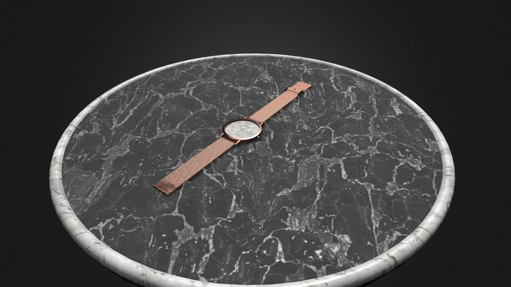 Cluse Watch Total 3D Model