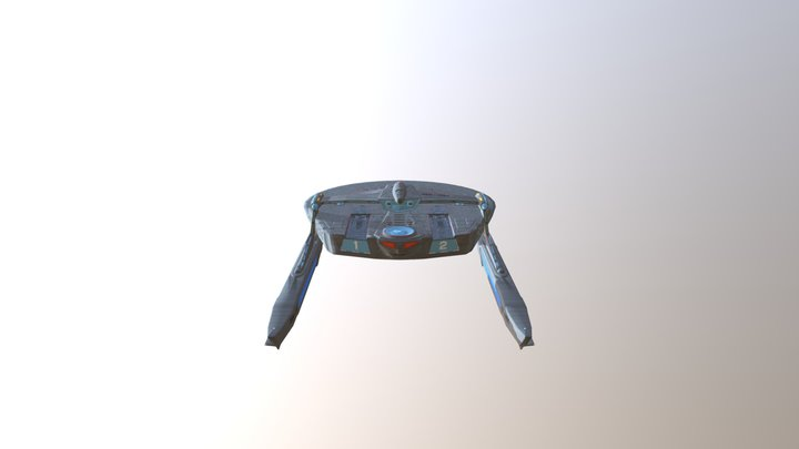Reliant NCC 1864 3D Model