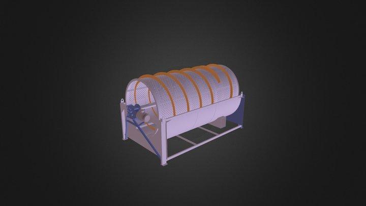 Rotating Screener Cernis SRC 4K 3D Model