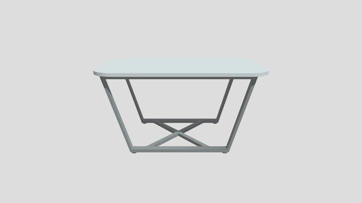 стеклянный стол Loft 3D Model