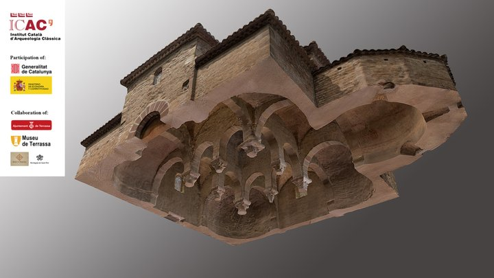 7. Detail of the vaults 3D Model