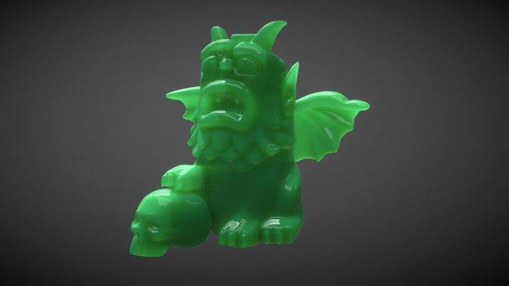 Gargoyle SSS test 3D Model