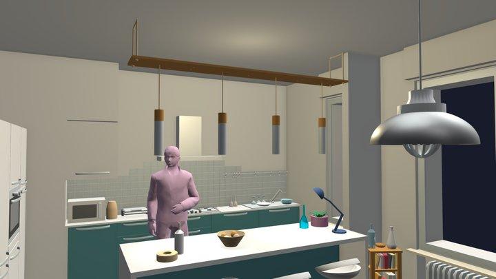 Cucina Ceci - 23 May 2020 3D Model